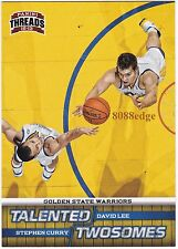 2012-13 PANINI THREADS TALENTED TWOSOMES: STEPHEN CURRY/DAVID LEE #11 WARRIORS