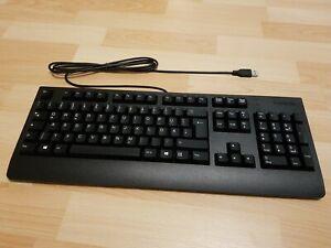 Lenovo Essential Wired Keyboard USB Tastatur QWERTZ deutsch verkabelt schwarz