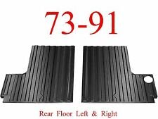 73 91 Chevy Blazer Rear Cargo Floor Set, Rear Section, GMC Jimmy