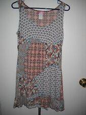 Julie's Closet Juniors Size L Multi-Color Dress   Very Cute!