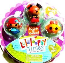 NEW! Lalaloopsy Tinies Mini Figure Series 1 Peggy Seven Seas! Coral Sea Shells!