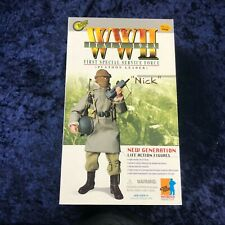 """Dragon Wwii 1/6 First Special Service Force Platoon Leader """"Nick"""" Italy 1943"""
