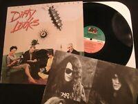Dirty Looks - Turn Of The Screw -1989 Vinyl 12'' Lp./ VG+/ Hard Rock Metal