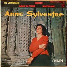 Rare Anne Sylvestre E.P. Les Cathedrales & Jeannette - French Press VG+ PS
