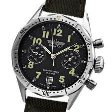 POLJOT Luftwaffe Fliegerchronograph 3133 russische Uhr NOS 2004 Handaufzug