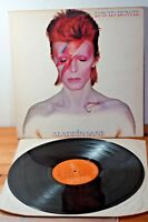 David Bowie Aladdin Sane RCA 1973 10 Tracks EX Lyric Slv Uk 1st