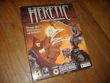 HERETIC SHAREWARE (1994) MS-DOS PC BIG BOX