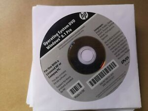 HP Win 8.1 Pro Operating System DVD NEW UN-OPENED