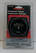 Sunpro Aviation Style Ammeter Gauge Cp8082 New Never Opened