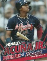 """2020 Topps Update RONALD ACUNA JR. """"HIGHLIGHTS"""" TARGET EXCLUSIVE CARD #TRA-18"""
