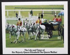PITCAIRN ISLANDS 1985 Life & Times of Queen Mother. SOUVENIR SHEET. MNH. SGMS272
