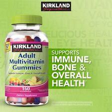 Kirkland Signature Adult Multivitamin 320 Gummies (160 x 2) chewable gummy NEW