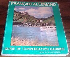 GUIDE DE CONVERSATION FRANCAIS-ALLEMAND - tourisme voyage Allemagne
