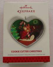 Hallmark 2013 Cookie Cutter Christmas #2 in Series Mouse Writing Santa Ornament