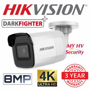 Hikvision Darkfighter DS-2CD2085G1-I 4K 8MP Bullet IP Security Camera 2.8mm AUS