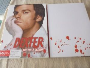 Dexter : Season 1 (DVD, 2008, 5-Disc Set) Region 4  Michael C. Hall