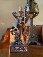 Walt Disney showcase collection, from Sea To Shining sea. Mickey Mouse Uncle Sam