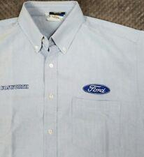 Official COSWORTH FORD Racing Shop Shirt Indy Champ British Jaguar NASCAR Sz L