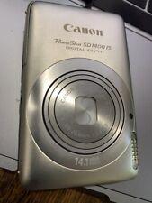Canon PowerShot Digital ELPH SD1400 IS / 14.1MP Digital Camera - Silver