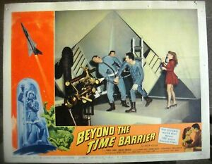 """BEYOND THE TIME BARRIER Lobby Card #4 Movie Poster 11x14"""" Sci-Fi Film 1959/247"""