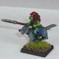 Goblin Wolfrider With Yari Warhammer Fantasy Armies 28mm Unpainted Wargames