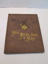 """VTG THE SEVEN AGES OF MAN,  Shakespeare """"AS YOU LIKE IT"""" 1885 THE ARTIST EDITION"""