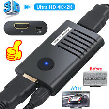 60M HDMI 2.0 Repeater Extender Booster Adapter 4K 2160P For PC DVD Sky HD Box