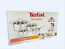 Tefal Intuition Topfset - 7-teilig - für Induktion / Ceran / Gas - A702A8 - NEU