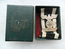 German ww2 Third Reich medal iron cross 1939 spange/bar