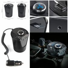 Inalámbrico Bluetooth coche reproductor de MP3 FM Transmisor Radio LCD SD USB Cargador Kit