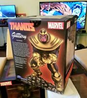 Marvel Comic Gallery Avengers THANOS Statue PVC Diorama Excl Diamond Select