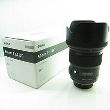 Sigma ART 50mm F/1.4 HSM DG Lenti Nikon FX-BB -