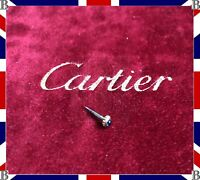 Genuine Cartier Must Gold Crown Blue Sapphire Cabochon 3.4 mm VLC Must 39770522