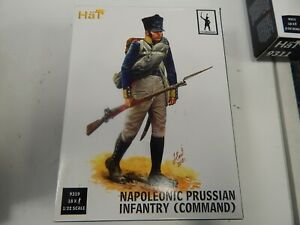 1/32 scale plastic Prussian Infantry Command   #9319 by Hat