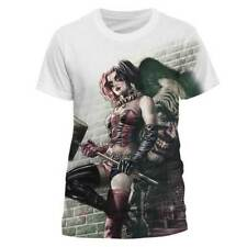 Batman Polyester Short Sleeve T-Shirts for Men