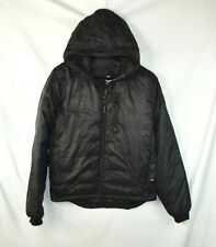 Mens Canada Goose Lodge Jacket Size Black Men's M Medium Hoodie Puffer