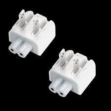 2 x Pcs  Mag Safe AC Wall Adapter DUCKHEAD 2 PRONG PLUG 45W 60W 85W For Apple