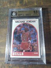 1989-90 HOOPS #200 MICHAEL JORDAN BULLS BGS 9.5 GEM MINT PSA