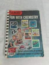 Vintage 1956 Gilbert's Fun With Chemistry Booklet
