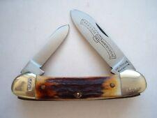 SCHRADE WOSTENHOLM GS50 CANOE PATTERN KNIFE