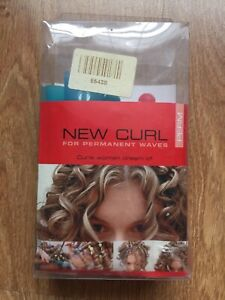 New Curl For Permanent Waves Box Of 12 Spiral Rollers