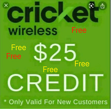 @FREE@ $25 Cricket Wireless Referral Program Credit with Step by Step Easy