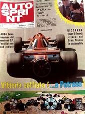 Autosprint 25 1978 Lauda torna campione del mondo nel GP. Rally Ciocco [Sc.40]