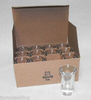 Libbey 5031 1oz. Fluted Shot Glass Shooter CASE/12 Free Ship