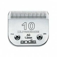 ANDIS UltraEdge 10 DETACHABLE CLIPPER BLADE leaves fur 1.5mm. 1 1/16""