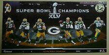 SBXLV Green Bay Packers Fathead Mural Aaron Rodgers Clay Mathews Woodson Driver