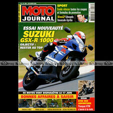 MOTO JOURNAL N°1556 ★ KTM 950 ADVENTURE ★ COLIN EDWARDS ★ SUZUKI GSX-R 1000 2003