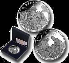 ESPAÑA  50 euro plata 2011 El Greco  (Cincuentin) Pintores Españoles Cert  10