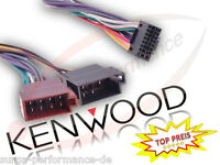KENWOOD Autoradio Kabel Radio Auto Adapter Stecker DIN ISO 16 Pin NEU OVP