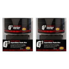 2 Farecla G3 Professional Super Gloss Paste Wax Car Polish Waffle Applicator Pad